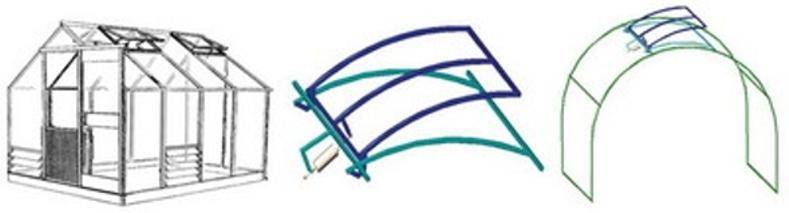 Как сделать форточку на теплицу из поликарбоната